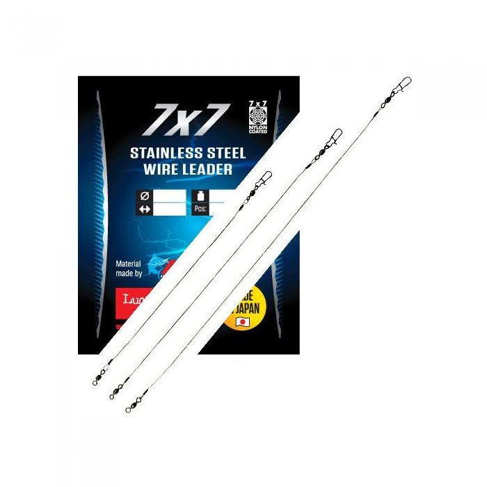 Поводки стальные LJ PS SSW AFW 9,12,18кг/20,25,30см/49вол. для рыбалки