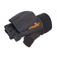 Перчатки-варежки Norfin Junior c магнитом черного цвета