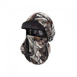 Шапка-маска Norfin Hunting кольору камуфляж