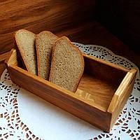 Дубовая хлебница Средняя LAS 1104-SCL