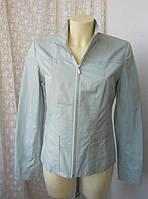 Куртка легкая женская жакет хлопок Next р.44-46, фото 1