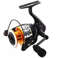 Катушка безинерционная для удилища Team Salmo Vantage TS-9340FD / Катушка для рыбалки золотисто-черного цвета
