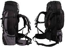 Туристический рюкзак  HI-TEC Katanga 65 Л, черный, фото 3