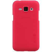 Чехол Nillkin для Samsung Galaxy J1 J100h красный (+пленка), фото 1