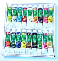 Акриловые краски 18 цветов