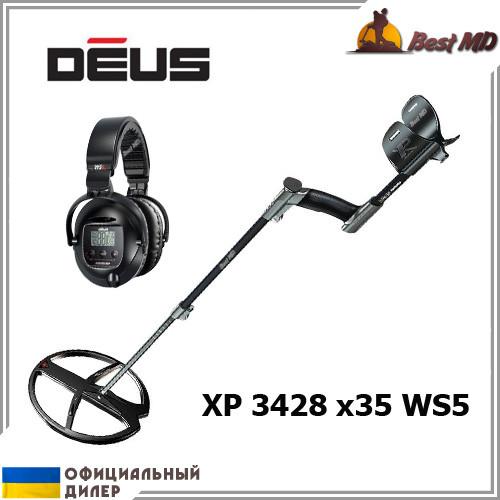 Металлоискатель XP Deus 3428 x35 WS5