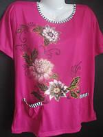 Красивые женские футболки большого размера., фото 1