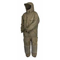 Зимний костюм мужской Norfin Extreme 2 для зимней рыбалки и охоты оливкового цвета