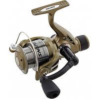 Катушка безынерционная для удилища Salmo Sniper Spin 4 6730RD / Катушка для рыбалки коричневого цвета