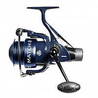 Катушка безынерционная для удилища Salmo Elite Match 8 3230RD / Катушка для рыбалки синего цвета