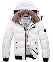 Куртка с меховым воротником, мужская куртка, чоловіча куртка зима, фото 1