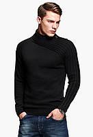 Мужской пуловер с высоким воротом, фото 1