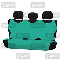 Чехлы майки универсальные на задние сидения зеленая     EL 105 238