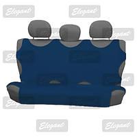 Чехлы майки универсальные на задние сидения темно-синяя     EL 105 241