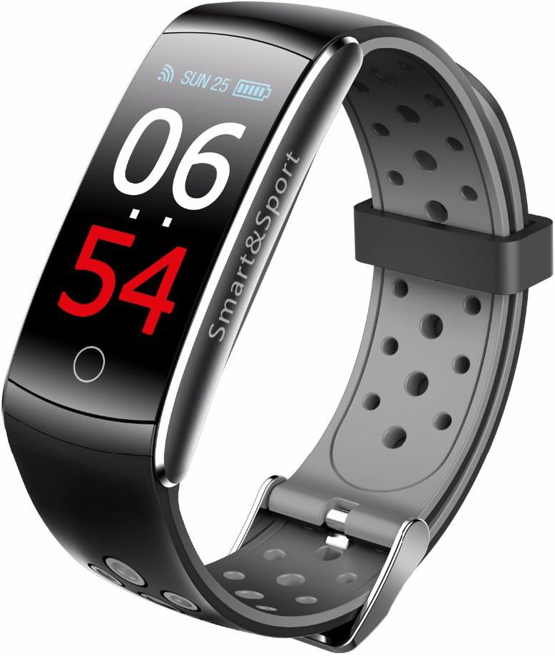 Фитнес-браслет Mavens Q8 Plus ( Q8S ) | IP68 | Тонометр | Черный | Гарантия