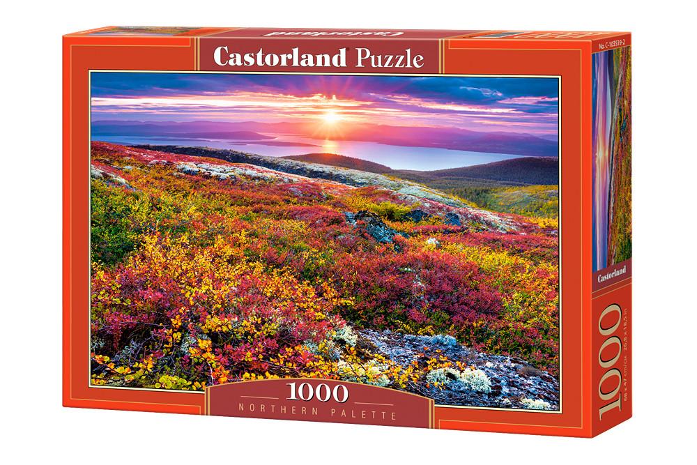 Пазл Castorland Northern Palette, 1000 эл.