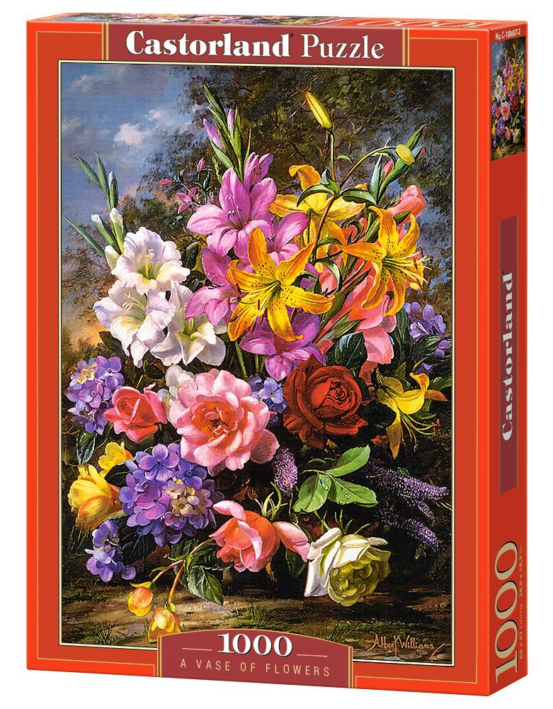 Пазл Castorland A Vase of Flowers, 1000 эл.