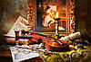 Пазл Castorland Still Life with Violin and Painting, 1000 эл., фото 2
