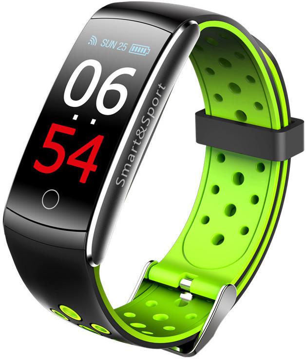 Фитнес-браслет Mavens Q8 Plus ( Q8S ) | IP68 | Тонометр | Зелёный