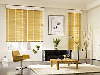 Жалюз горизонтальные Бамбуковые 50мм Натуральный цвет, фото 1
