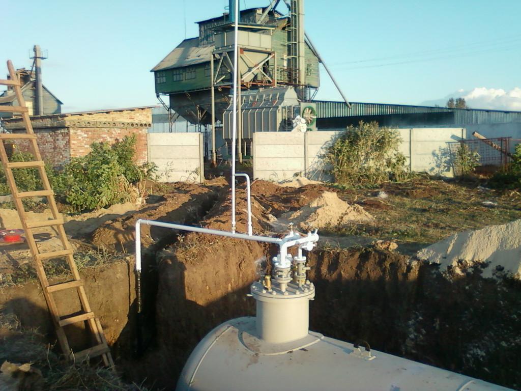 Автономная газификация зерносушилки