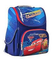 Рюкзак шкільний каркасний для хлопчика 1 ВЕРЕСНЯ H-11 Cars 555118, 33.5 * 26 * 13.5 см