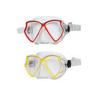 Маска для плавания SILICONE AVIATOR PRO MASK: 2 цвета, от 8 лет