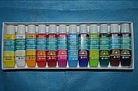 Набор акриловых красок 12 цветов