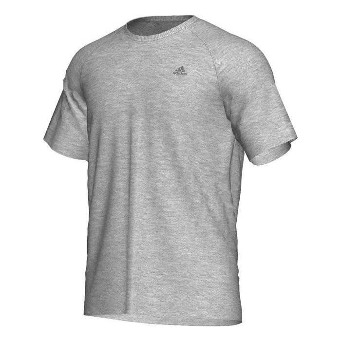 Футболка спортивная, мужская Adidas Men's Tee Shirt New ClimaLite Cotton E18076 адидас