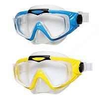 Детская маска для плавания Aqua Pro Mask Intex: 2 цвета, от 8 лет