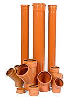 Труба канализационная ПВХ D110х3,2мм