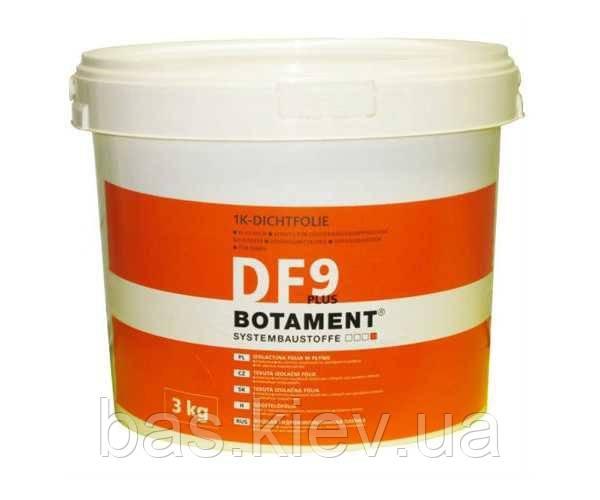 BOTAMENT DF 9 Plus Бесшов еластич гідроізоляція поверхонь д/вологих приміщень 3 кг