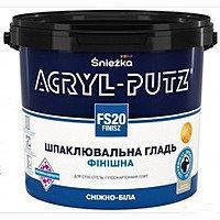 АКРИЛ-Путс Фініш шпаклівка СНЄЖКА, відро 27 кг,