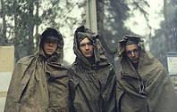 Плащ-палатка солдатская  СССР