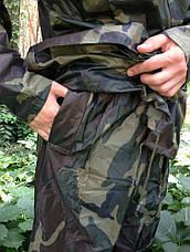 Костюм дощовик для риболовлі камуфльований Reis. ПВХ, нейлон, фото 3