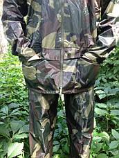 Костюм дощовик для риболовлі камуфльований Reis. ПВХ, нейлон, фото 2