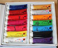 Акриловые краски для китайской росписи 14 ШТ