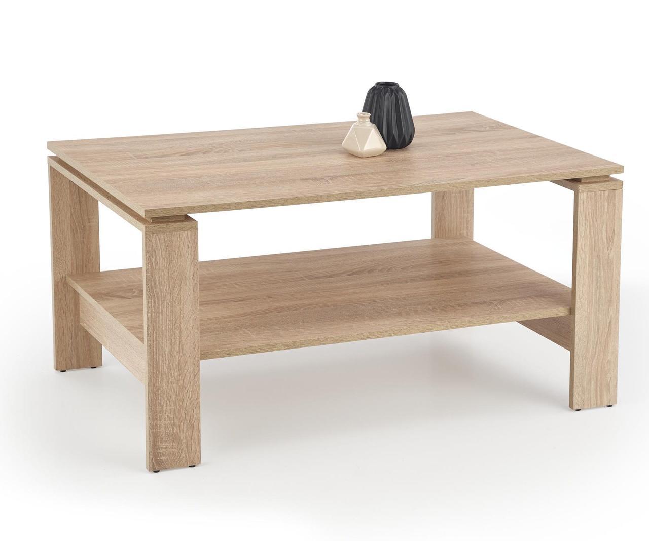 Журнальный стол ANDREA 110*60(5 цветов: белый,темный орех, сонома, сан ремо, дуб вотан) (Halmar)