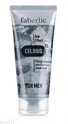 """Прозорий гель для гоління і вмивання """"Celsius"""", Faberlic for Men, Фаберлік Цельсиус, 100 мл, 0527"""