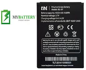 Оригинальный аккумулятор АКБ (Батарея) для THL 4000 / BL-07 4000 mAh 3.7V