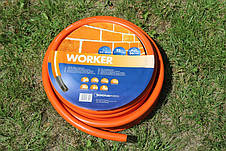Шланг садовый Tecnotubi Worker для полива диаметр 3/4 дюйма, длина 25 м (WR 3/4 25), фото 2