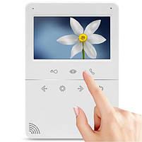 Комплект видеодомофон с вызывной панелью TETTA COMPACT Silver, фото 2
