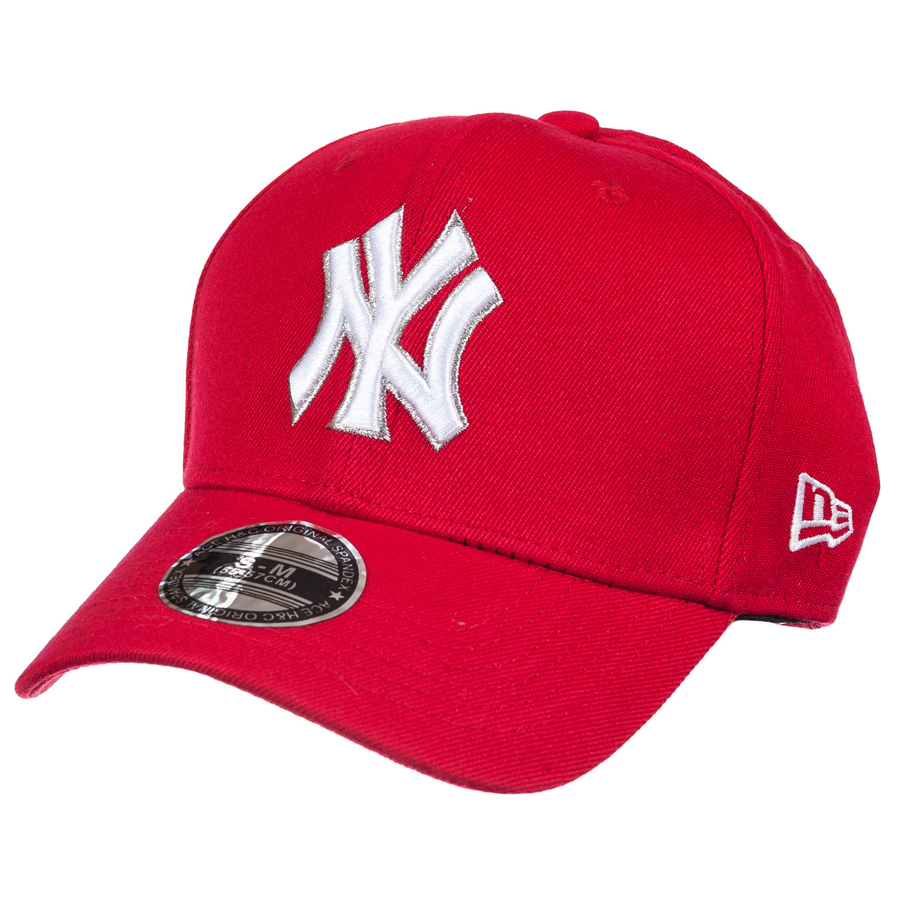 Бейсболка FULL CAP NY-2 красный