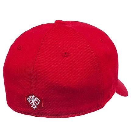 Бейсболка FULL CAP NY-2 красный, фото 2