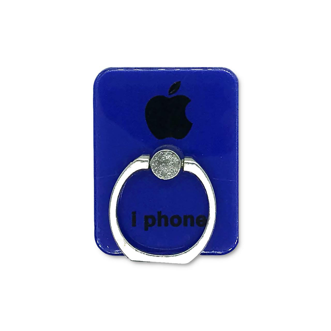 Держатель - кольцо - прямоугольник Apple Blue