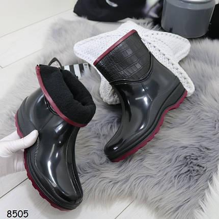 Ботинки резиновые, фото 2