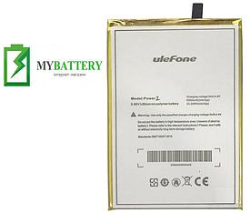 Оригинальный аккумулятор АКБ (Батарея) для UleFone Power 2 6050 mAh 3.85V