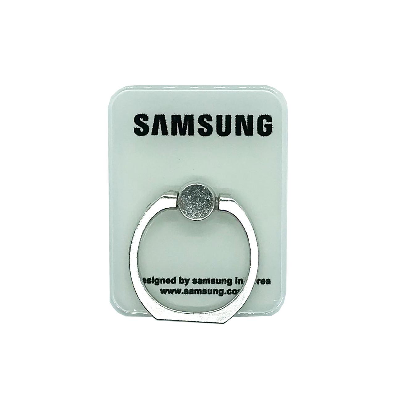 Держатель - кольцо - прямоугольник Samsung White
