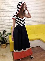Платье морячка с капюшоном Турция, фото 1