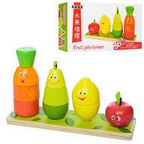 Деревянная игрушка Геометрика Овощи MD 1201 Гарантия качества Быстрота доставки